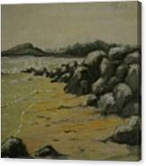 Maine Coast Usa Canvas Print