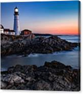 Maine Coastline Sunrise Canvas Print