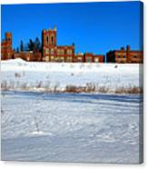 Maine Criminal Justice Academy In Winter Canvas Print