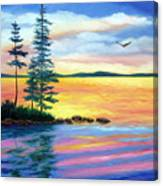 Maine Evening Song Canvas Print