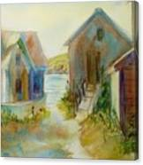 Maine Island Canvas Print