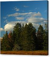 Maine Landscape Photography Canvas Print