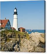 Maine Lighthouse Canvas Print