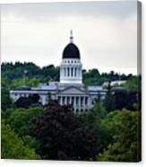 Maine State House Canvas Print