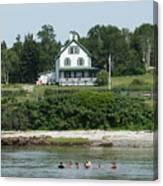 Maine Summer Canvas Print
