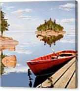 Maine-tage Canvas Print