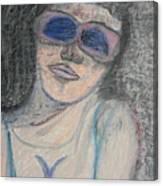Maine Woman Canvas Print