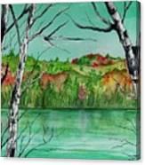 Maine's Autumn Finery Canvas Print