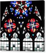 Mainz Cathedral Window Canvas Print