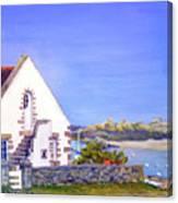 Maison De Chausey Canvas Print
