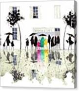 Maison De La Tarte Canvas Print