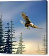 Majestic Eagle Canvas Print