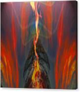 Majestic Fire Canvas Print