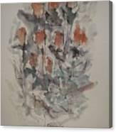 Majestic Floral Gg Canvas Print