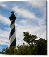 Majestic Hatteras Lighthouse Canvas Print