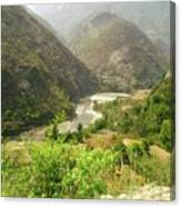Majestic Himalayas Canvas Print