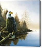 Majestic Light - Eagle Canvas Print