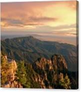 Majestic Mountain View Canvas Print