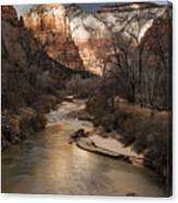 Majestic Mountains-zion Canvas Print