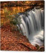 Majestic Oneida Falls Canvas Print