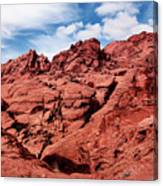 Majestic Red Rocks Canvas Print