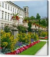 Majestic Salzburg Garden Canvas Print
