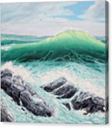 Majestic Sea Canvas Print