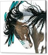 Majestic Turquoise Horse Canvas Print