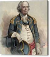 Major General Israel Putnam Canvas Print