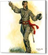 Major General Patrick R. Cleburne Canvas Print