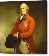 Major-general Sir Archibald Campbell Canvas Print