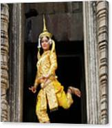 Makala Dancer In Cambodia Canvas Print