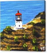 Makapuu Lighthouse #78, Canvas Print