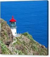 Makapu'u Lighthouse Canvas Print