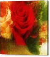Make Mine Roses Please Too Canvas Print