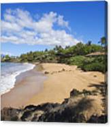 Makena, Changs Beach Canvas Print