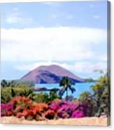 Makena Maui Canvas Print