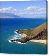 Makena, Maui Canvas Print