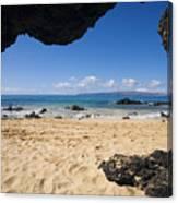 Makena View From Secret Beach Canvas Print