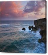 Makewehi Sunset Canvas Print