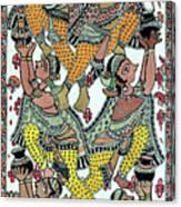 Makhanchor Canvas Print