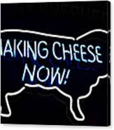 Making Cheese Now Canvas Print