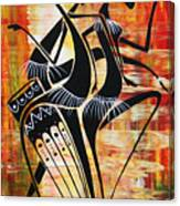 Makonde And Mask 5 Canvas Print