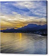 Makrygialos Sunset Canvas Print
