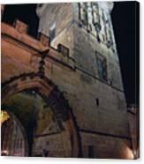 Mala Strana Bridge Tower Canvas Print