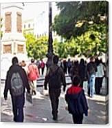 Malaga-2010-28 Canvas Print