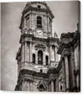 Malaga Cathedral Canvas Print
