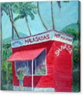 Malasada Stand Canvas Print