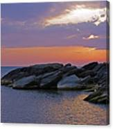 Malawi Sunrise Canvas Print