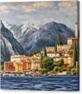 Malcesine Castle, Lago Di Garda Canvas Print